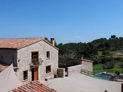 Photo for Fantastic farmhouse with private pool at just 45 minutes from Barcelona