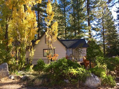 Photo for Remodeled Cabin! 10 minute walk to Lake! or short drive to Ski Resorts!
