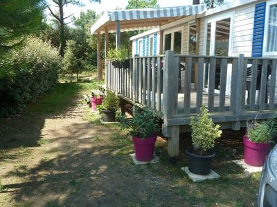 Photo for Mobile home rental 6 people 4 * seaside