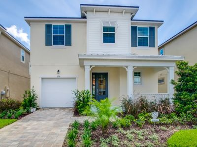 Photo for Disney On Budget - Solara Resort - Amazing Cozy 5 Beds 4.5 Baths Townhome - 5 Miles To Disney