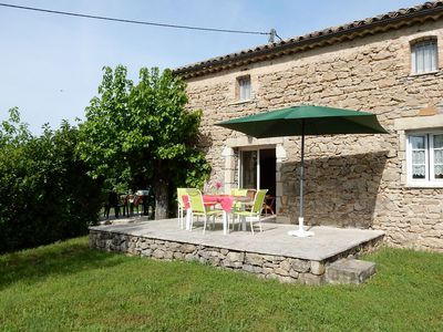 Photo for Detached house near picturesque villages, with lovely view in the Ardeche