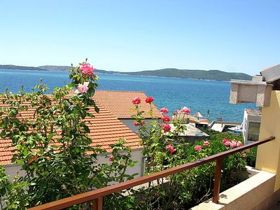 Photo for 3 bedroom Apartment, sleeps 8 in Brodarica with Air Con and WiFi