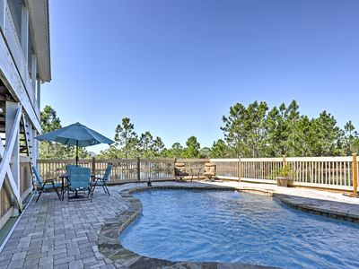 Photo for Gulf Shores House w/Pool - Walk to Private Beach!
