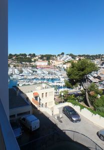 Photo for spacious apartment T3 with private access in front of the marina of Carry-le-Rouet