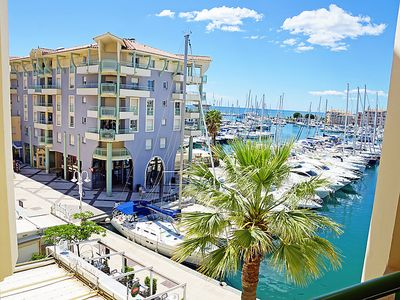 Photo for Apartment Bleu Marine  in Fréjus, Cote d'Azur - 4 persons, 1 bedroom