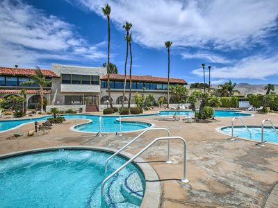 Photo for Desert Hot Springs Home By Spa, Golf Course & Park