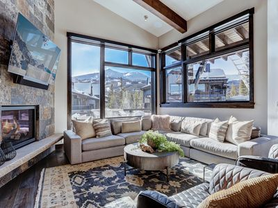 Photo for Wintours Leap: 4 BR / 4.5 BA townhome in Breckenridge, Sleeps 11