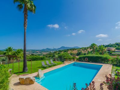 Photo for SES PEDRES - Villa with private pool in MANACOR.