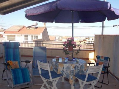 Terrace con vista colline