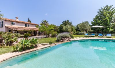 Photo for Charming Mediterranean family villa with large garden and private pool. Sleeps 12 guests.