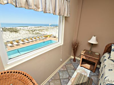 Photo for Driftwood 1D - Gulf Front Dream, Book today for best Summer rates!