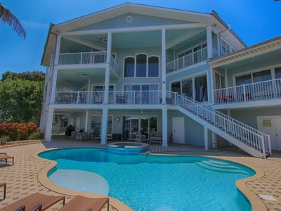 Photo for Waterfront Beach House in Clearwater Beach - Beachcomber's Luxury Home  by Beach Time Rentals