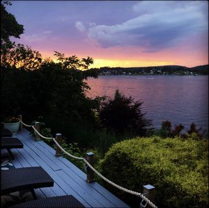 Photo for Charming 4BR 2BA Direct Waterfront Home w/Panoramic Views on Candlewood Lake