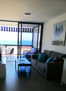 Photo for Modern apartment facing the sea