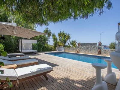Photo for Villa Tala , 5 bedrooms can accomodate up to 10 people , only 5-minute drive from Ibiza