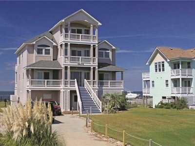 Photo for SOUNDFRONT in Hatteras w/Htd Pool&HotTub, Elevator, Pets