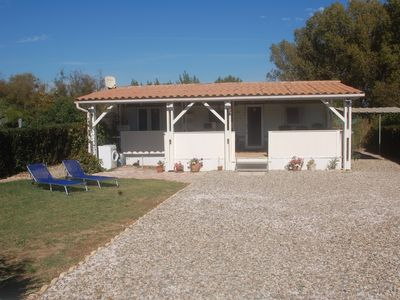 Photo for Mobile Home on private property in natural position, 500m to the beach