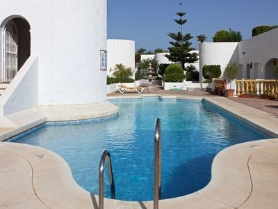 Photo for Comfortable apartment 1 - 4 people in Mijas Golf