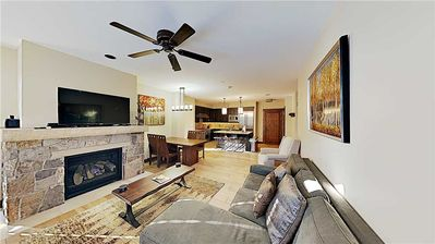 Photo for Walk to the lifts from this luxurious, centrally located condo
