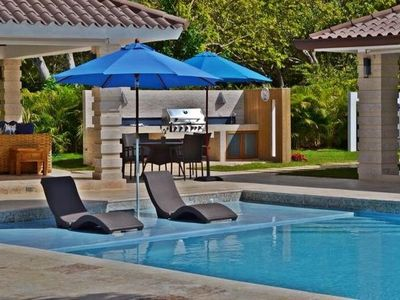 Photo for Gorgeous Villa, Centrally Located, 5-Minute Walk to Minitas Beach, Housekeeping, Cook, A/C