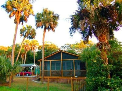 Photo for Folly's Best Kept Secret  ~  4 MINUTE WALK TO THE BEACH!  ~  2 bed / 2 bath