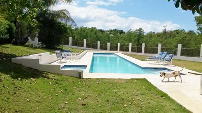 Photo for Rincon Puerto Rico Hilltop Villa 2-Bedroom Apartment with lap pool/Jacuzzi
