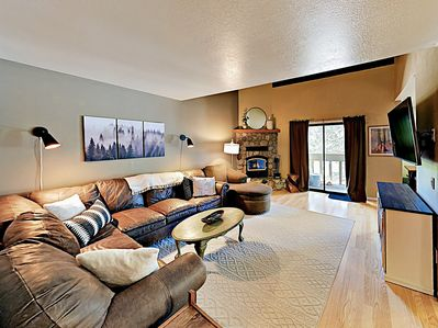 Living Room - Welcome to Mammoth Lakes! Your rental is professionally managed by TurnKey Vacation Rentals.