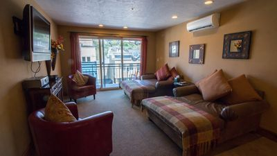 Photo for Located on Main Street Balcony overlooks Historical Downtown 1 Bedroom Treasure Mountain Inn Condo