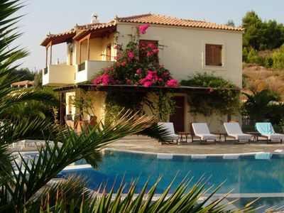 Photo for Hilltop Villa With Spacious Surroundings & Guest House