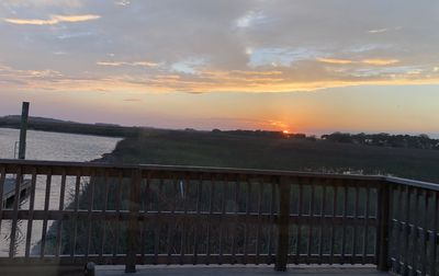 Photo for Stunning Folly Sunset Views! Bike to Beach!