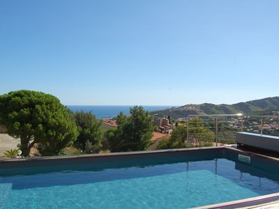 Photo for Exceptional Villa 450 m2 sea view with pool, spa and sauna