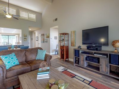 Photo for Dog-friendly golf getaway with course access & shared pool