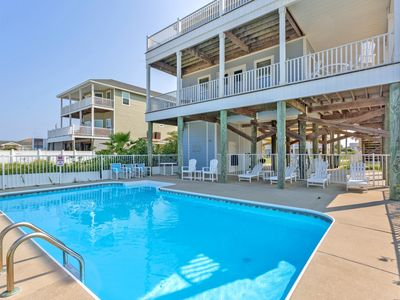 Photo for Gulf View Home with Private POOL; Gulf and Bay Views