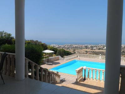 Photo for Luxury Villa 4 bed villa with  Private Pool, Internet, SAT TV, Games Room & Bar