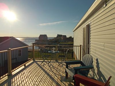 Photo for Oceanside Cottage with amazing sunsets, near Peggy's Cove