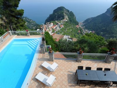Photo for Villa Eustachio beautiful villa on the Amalfi coast