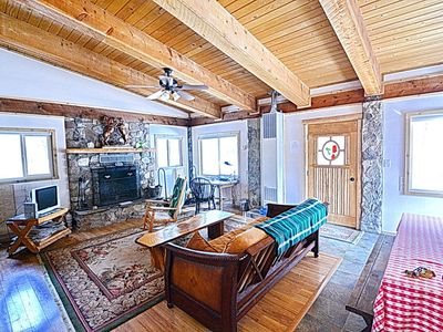 Photo for Private and Sunny Cabin Located on Spring Creek! Bunkhouse-Grill-Firepit!