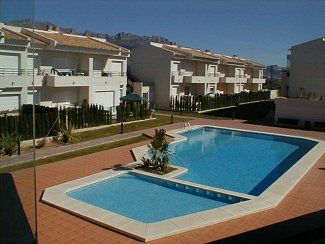 Photo for Apartment with Shared Pool, Lovely Gardens and Mountain Views