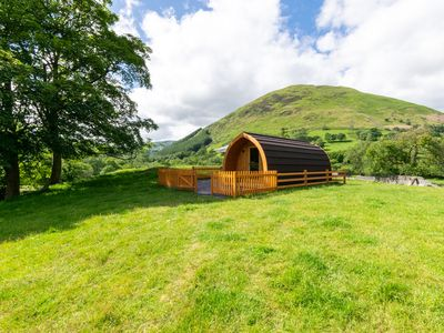 Photo for Set on its own elevated hillock, this beautiful glamping pod offers the most picturesque and inspira