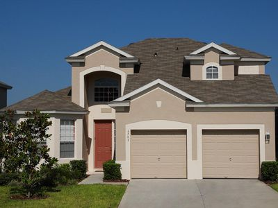 Photo for Beautiful 4-bedroom Windsor Hills Resort home with 3 suites, game room, office, pool and spa