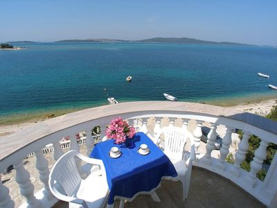 Photo for One bedroom apartment near beach Brodarica, Å ibenik (A-15270-e)