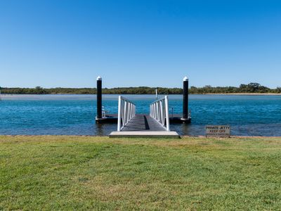 Photo for Water Front  ground floor Maroochydore River Unit 3 The Jetty