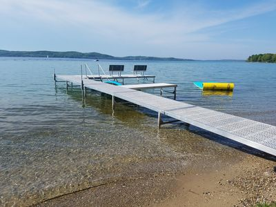 Photo for Beautiful Beach Front on Suttons Bay