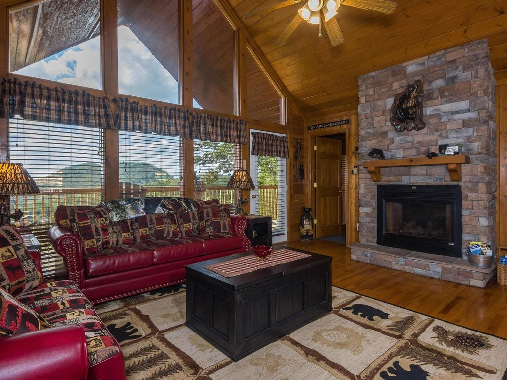 in rentals pa deck cabins cozycabins is mountains lovers romantic virginia cozy cabin for