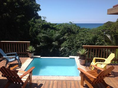 Photo for Ideal Location! Deck Pool, Ocean View, 5 Bedrooms, private setting
