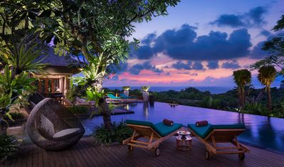 Photo for Ocean View Cliff Top Wedding Villa Nusa Dua-7 Bedrooms