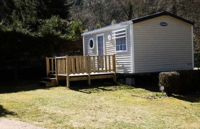 Photo for Camping Les Granges Bas ** - Mobile home 2 Rooms 2 People
