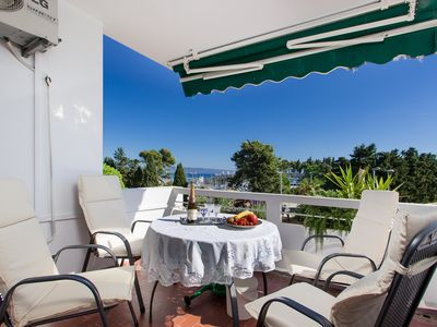 Photo for PRIME LOCATION Sea View Apartment, 100 m from sea, 10 min. from Split old town