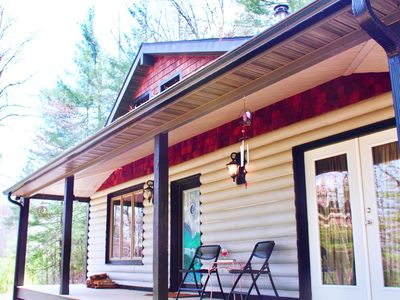 Photo for 2BR Cabin Vacation Rental in Leicester, North Carolina