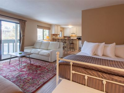 Photo for Updated Studio, Sleeps 4, Just Steps to free Shuttle Pick UP